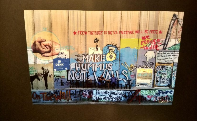 """Antisemitismus entgegentreten – Für die sofortige Beendigung der Ausstellung """"The Wall – Bilder aus Palästina"""" im Café Immergrün in Jena"""